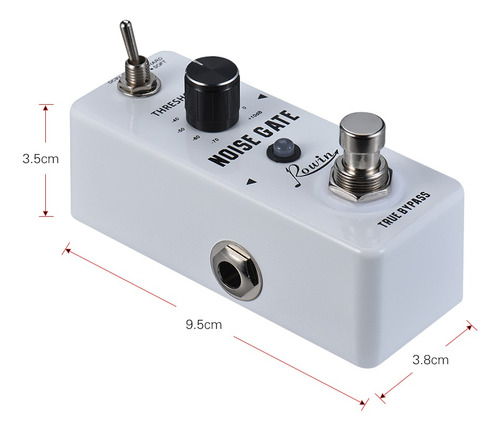 pedal efecto sonido