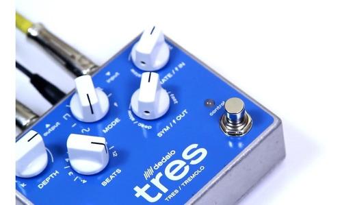 pedal efecto vibrato guitarra electrica dedalo trs5 tremolo