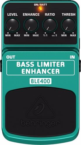 pedal efectos bass limiter enhacer behringer ble400 bajo