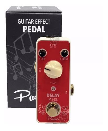 pedal efectos varios modelo distorsion chorus delay t/ mooer