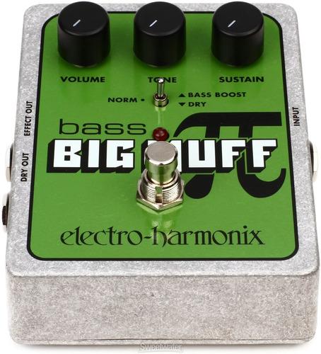 pedal ehx bass big muff distortion - electro harmonix