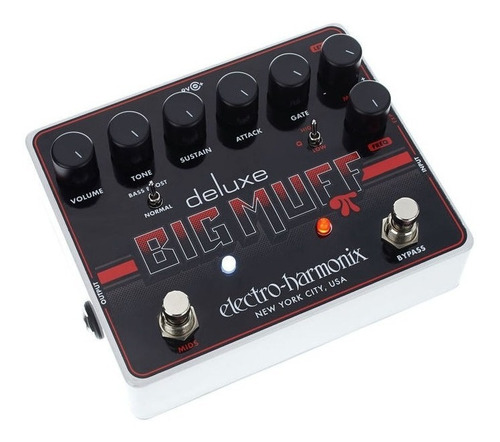 pedal ehx deluxe big muff pi distortion sustainer gate