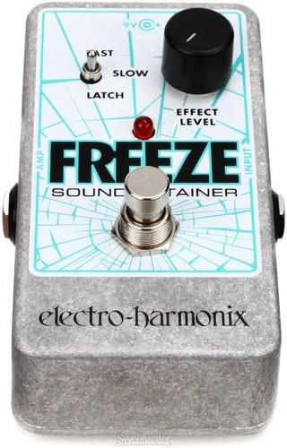 pedal ehx freeze electro harmonix sustain infinito