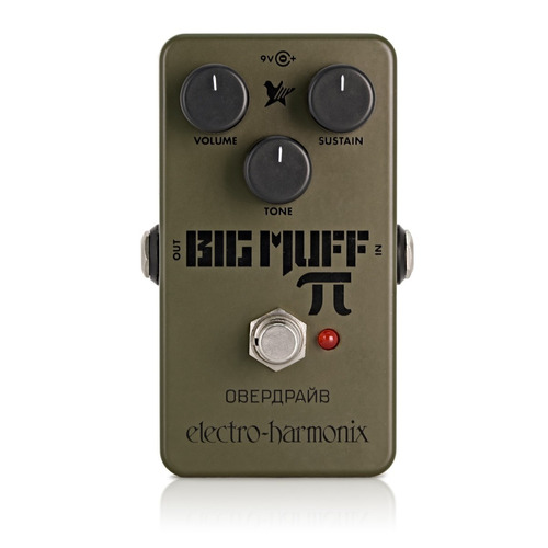 pedal ehx green russian big muff distortion sustainer