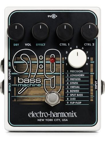 pedal electro harmonix bass 9 lançamento c/ nf-e & garantia