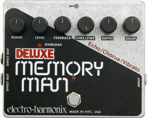 pedal electro-harmonix deluxe memory man