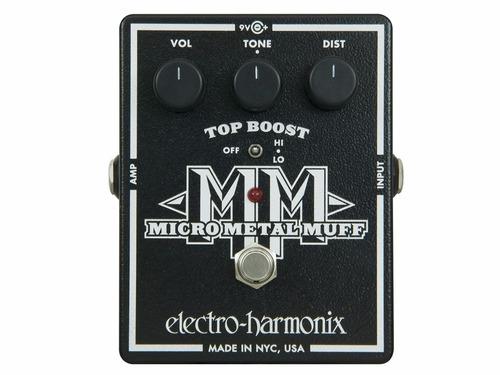 pedal electro-harmonix micro metal muff