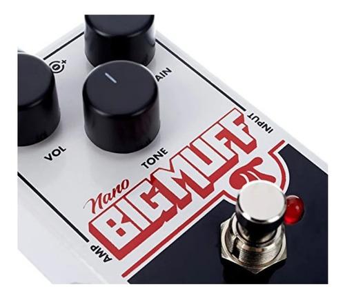 pedal electro harmonix nano big muff c/ nf-e garantia