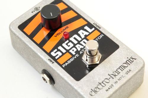 pedal electro harmonix nano signal pad atenuado. musicapilar