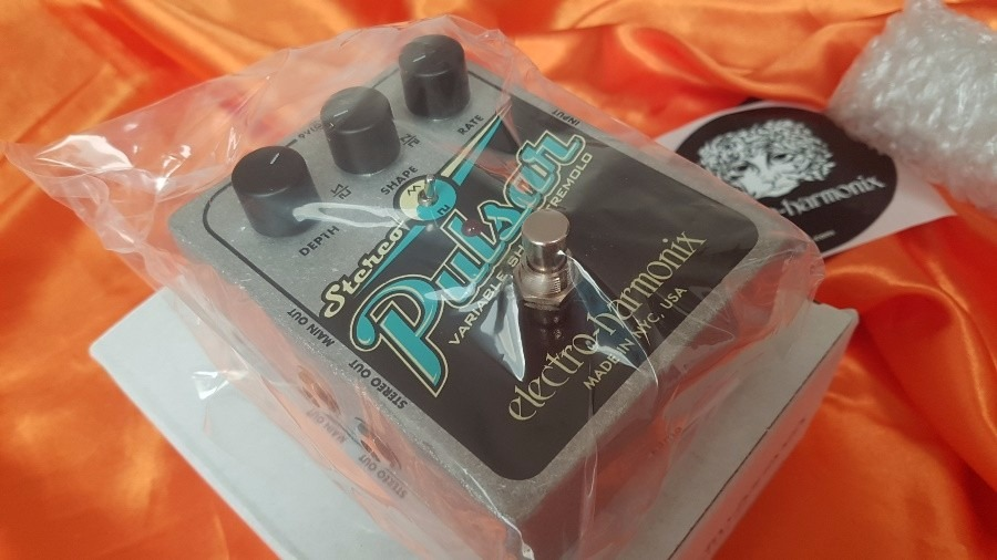 pedal electro harmonix pulsar tremolo r 599 00 em mercado livre. Black Bedroom Furniture Sets. Home Design Ideas