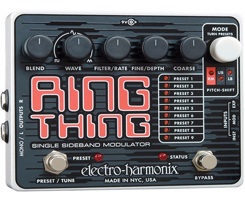 pedal electro-harmonix ring thing