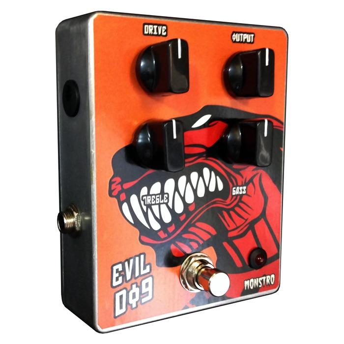 Pedal Evil Dog Overdrive Tipo Mantra Blackout Effectors Novo
