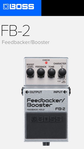 pedal fb-2 feedbacker/booster
