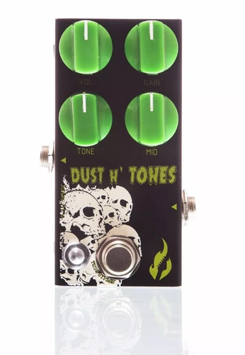 pedal fire dust and tones distortion overdrive de alto drive