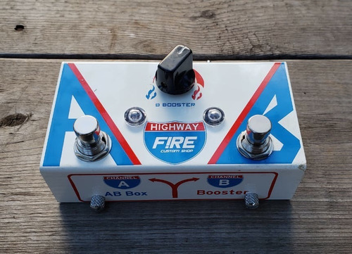 pedal fire highway booster a/b box seletor