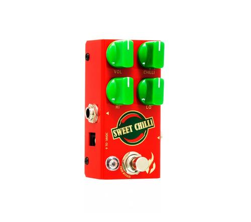 pedal fire sweet chilli overdrive compacto - c/ nf e garanti