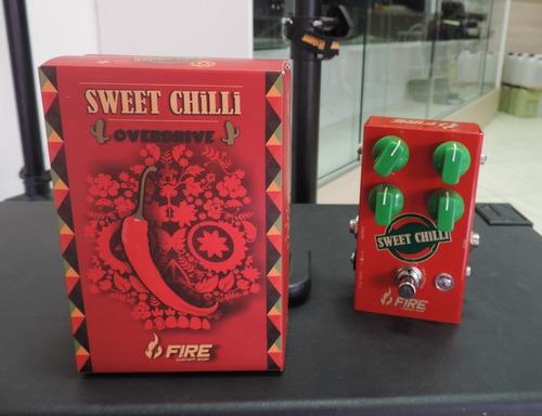 pedal fire sweet chilli semi novo ótimo estado na caixa