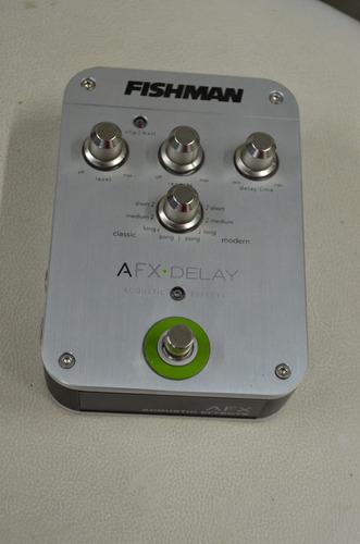 pedal fishman afx delay