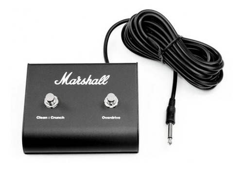 pedal footswitch marshall crunch/overdrive pedl-90010