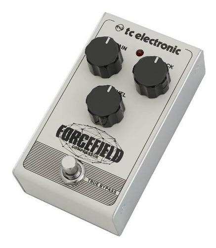 pedal forcefield compressor - tc electronic + nf + garantia - com nota fiscal e garantia de 2 anos proshows!