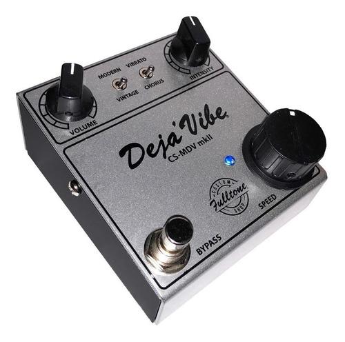 pedal fulltone mini deja vibe mkii custom shop c/ nf-e
