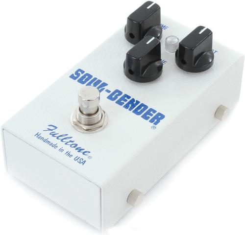 pedal fulltone soul bender overdrive/fuzz made in usa c/nf-e
