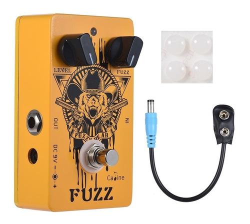 pedal fuzz caline cp-46 fuzzy bear - hendrix fuzz