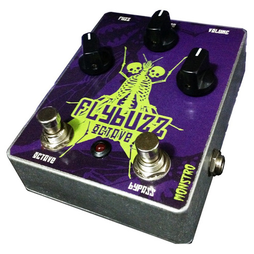 pedal fuzz octave flybuzz tipo bumble bee jack white monstro