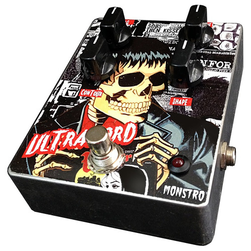 pedal fuzz ultralord tipo sinister analog monstro effects