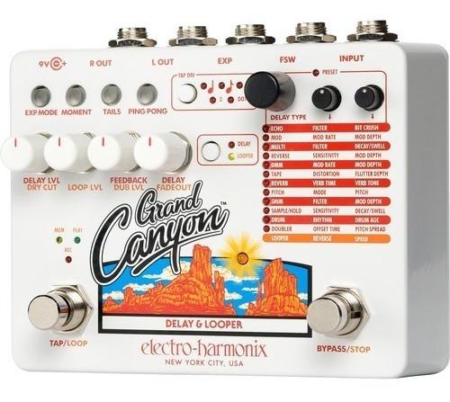 pedal grand canyon electro harmonix  delay loop ehx