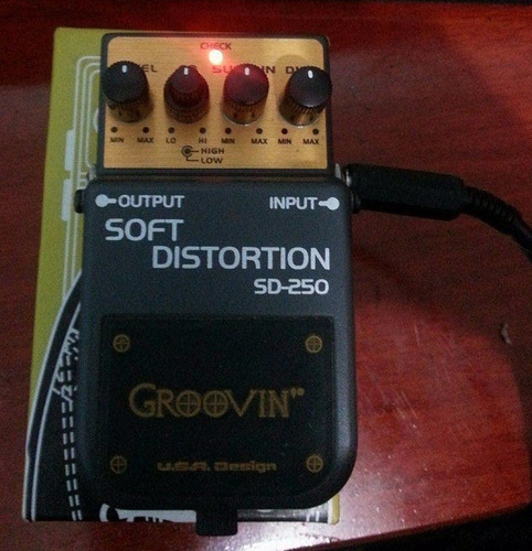 pedal groovin soft distortion