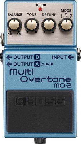 pedal guitarra boss multi overtone mo2 musica pilar