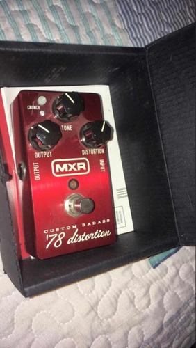 pedal guitarra distorsion mxr 78 (precio negociable)
