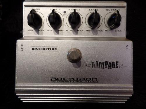 pedal guitarra distorsion rocktron rampage permuto !!