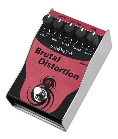 pedal guitarra distortion landscape brutal distortion brd2