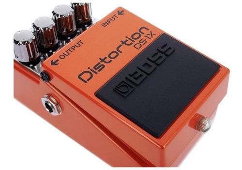 pedal guitarra edição especial boss com premiun tone ds-1x