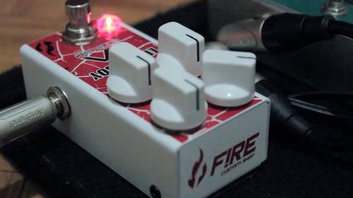 pedal guitarra fire little boy mini juninho affran