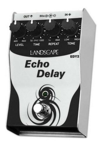 pedal guitarra landscape echo delay edy2- novo , mostruário