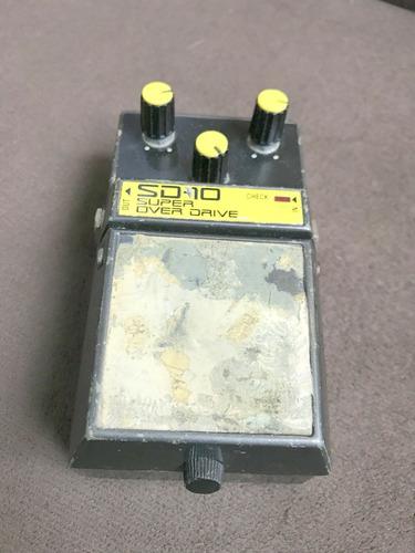 pedal guitarra oliver super over drive + brinde