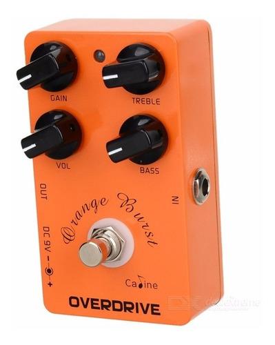 pedal guitarra overdrive caline cp18 clone xotic bb preamp