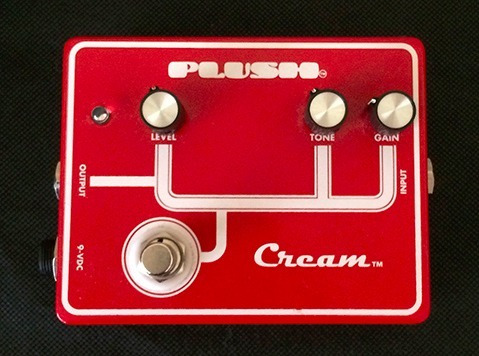 pedal guitarra plush cream overdrive
