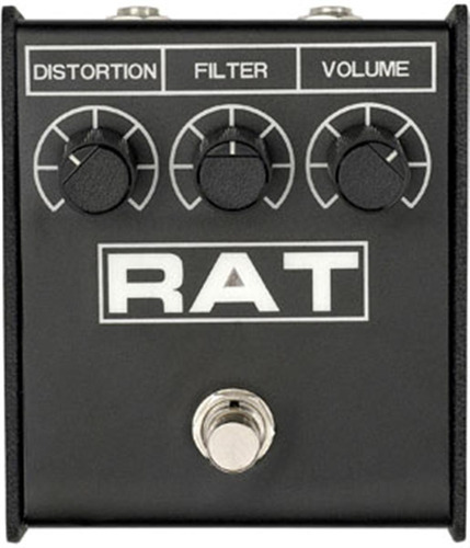 pedal guitarra pro co rat 2 distortion | fuzz | overdrive