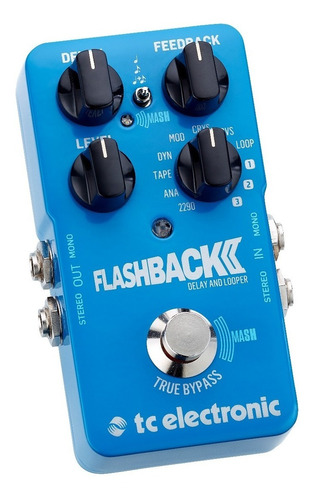 pedal guitarra tc electronic flashback 2 delay and looper *