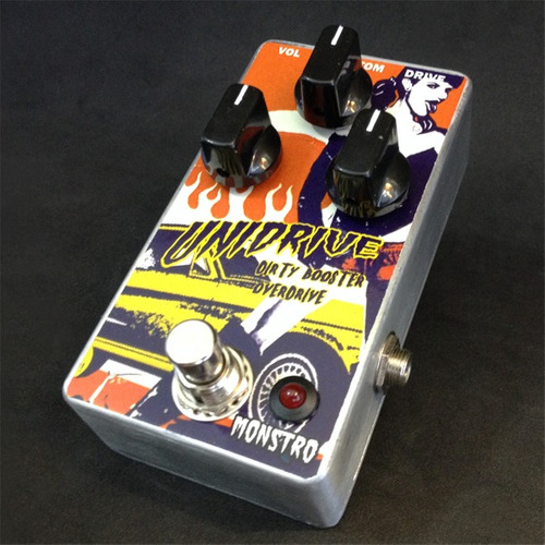 pedal handmade univox unidrive overdrive monstro effects 12x
