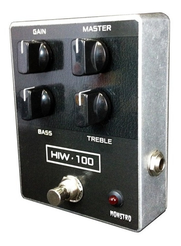 pedal hiw 100 amplificador inglês in a box monstro effects