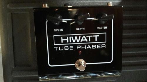 pedal hiwatt phaser tube