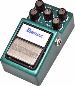 pedal ibanez bass tube screamer ts 9b para baixo overdrive