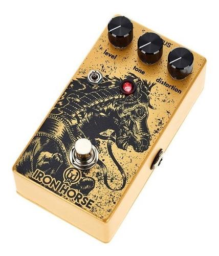 pedal iron horse walrus audio v2 guitarra distortion