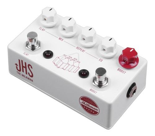 pedal jhs milkman echo/slap delay boost c/ nf-e & garantia