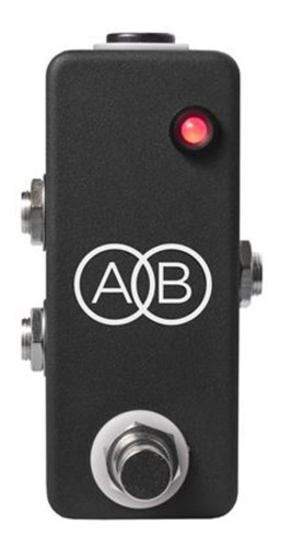 pedal jhs mini a/b box 2 channel switcher c/ nf-e & garantia